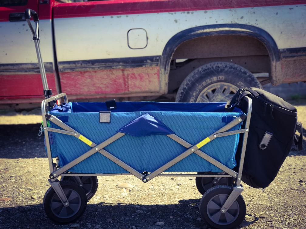 Kids Stroller Wagon Off Roading