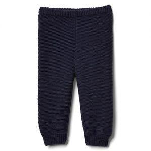 gap blue garter pants