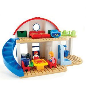 playmobile suburban home