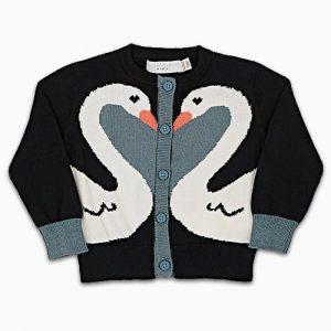 stella mccartney swan sweater