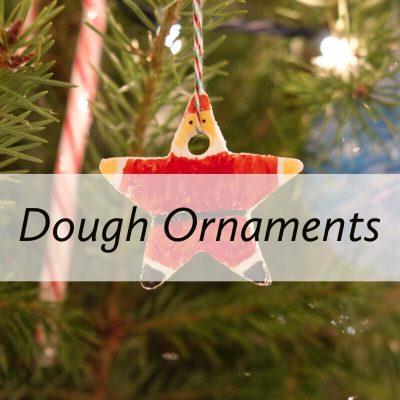 DIY Christmas Dough Ornaments